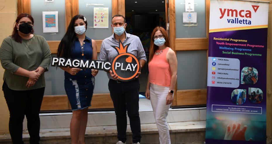 PRAGMATIC PLAY MENYUMBANG €10,000 UNTUK YMCA MALTA